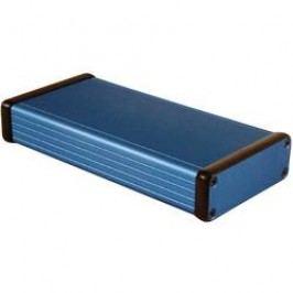 Univerzálne púzdro Hammond Electronics 1455J1601BU 1455J1601BU, 160 x 78 x 27 , hliník, modrá, 1 ks