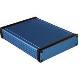 Univerzálne púzdro Hammond Electronics 1455P1601BU 1455P1601BU, 160 x 125 x 30.5 , hliník, modrá, 1 ks