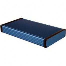 Univerzálne púzdro Hammond Electronics 1455P2201BU 1455P2201BU, 220 x 125 x 30.5 , hliník, modrá, 1 ks