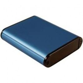 Univerzálne púzdro Hammond Electronics 1455B802BU 1455B802BU, 80 x 71.7 x 19 , hliník, modrá, 1 ks