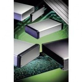Profilové puzdro Hammond Electronics 1455B1202BK 1455B1202BK, 122 x 71.7 x 19 , hliník, čierna, 1 ks