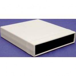 Univerzálne púzdro Hammond Electronics 1598GSGYPBK 1598GSGYPBK, 250 x 160 x 76 , polystyrén, sivá, 1 ks