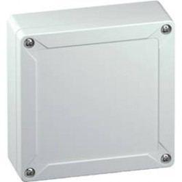 Inštalačná krabička Spelsberg TG ABS 1212-6-o 10040501, (d x š x v) 124 x 122 x 55 mm, ABS, svetlo sivá (RAL 7035), 1 ks