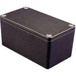 Univerzálne púzdro Hammond Electronics 1550Z115BK 1550Z115BK, 148 x 108 x 75 , hliník, čierna, 1 ks