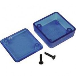 Univerzálne púzdro Hammond Electronics 1551NTBU 1551NTBU, 35 x 35 x 15 , ABS, modrá (priesvitná), 1 ks