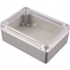 Univerzálne púzdro Hammond Electronics RP1215C RP1215C, 145 x 105 x 60 , ABS, svetlo sivá, 1 ks
