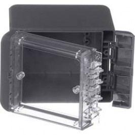 Puzdro na stenu, inštalačná krabička Bopla Bocube B 100809 PC-V0-G-7024 96022134, 90 x 113 x 80 , polykarbonát, sivá grafit (RAL 7024), 1 ks