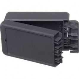 Puzdro na stenu, inštalačná krabička Bopla Bocube B 140806 ABS-7024 96033124, 80 x 151 x 60 , ABS, sivá grafit (RAL 7024), 1 ks