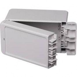 Puzdro na stenu, inštalačná krabička Bopla Bocube B 140809 ABS-7035 96033135, 80 x 151 x 90 , ABS, svetlo sivá (RAL 7035), 1 ks