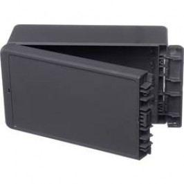 Puzdro na stenu, inštalačná krabička Bopla Bocube B 221309 ABS-7024 96035234, 125 x 231 x 90 , ABS, sivá grafit (RAL 7024), 1 ks