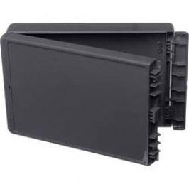 Puzdro na stenu, inštalačná krabička Bopla Bocube B 261706 PC-V0-7024 96016324, 170 x 271 x 60 , polykarbonát, sivá grafit (RAL 7024), 1 ks