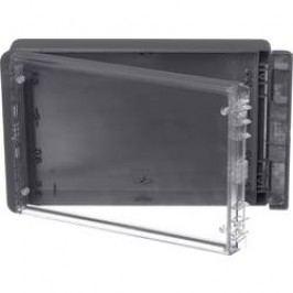 Puzdro na stenu, inštalačná krabička Bopla Bocube B 261706 PC-V0-G-7024 96026324, 170 x 271 x 60 , polykarbonát, sivá grafit (RAL 7024), 1 ks