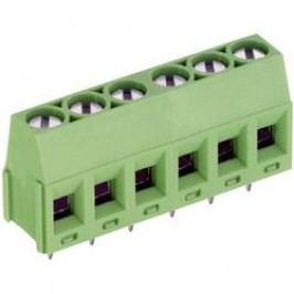 Skrutkovacia svorka PTR AK350/4-5.0-V 50350040005F, 1.50 mm², Počet pinov 4, zelená, 1 ks