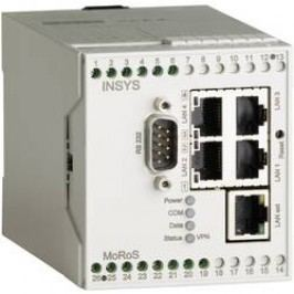 LAN router Insys 10000208, 110 x 70 x 75 mm