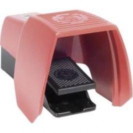 Nožné / ručné tlačidlo s ochranným krytom Bernstein AG F1-U1Z UN, 240 V/AC, 10 A, 1 spínací, 1 rozpínací, 1 pedál , IP65, 1 ks