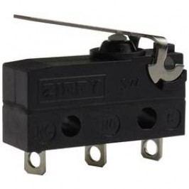 Mikrospínač - rovná kovová páka Zippy SW-05S-01A0-Z, 250 V/AC, 6 A, IP67