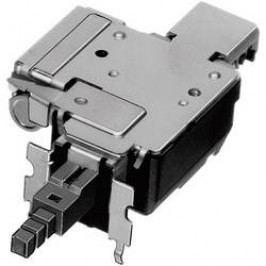 Tlačidlový spínač, kolískový spínač ALPS SDDFD30100, 250 V/AC, 8 A, čierna, 1 ks