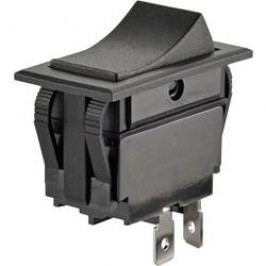 Kolískový spínač s aretáciou SCI R13-129A-01, 250 V/AC, 10 A, 1x vyp/zap, 1 ks