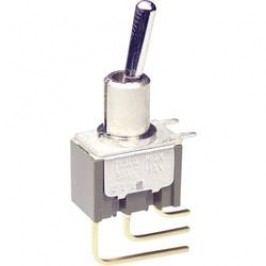 Pákový spínač NKK Switches M2012S2A2W23, 250 V/AC, 3 A, 1 ks