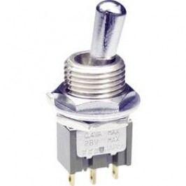 Pákový spínač NKK Switches M2012SS4W03, 250 V/AC, 3 A, 1 ks