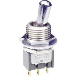 Pákový spínač NKK Switches M2022SS4W01, 250 V/AC, 3 A, 1 ks