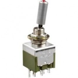 Pákový spínač NKK Switches M2112TFW01/M, 250 V/AC, 3 A, 1 ks