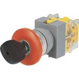 Kľúčový spínač TRU COMPONENTS Y090-A-20YM/31 704580, 250 V/AC, 5 A, 2x zap/vyp/zap, 2 x 45 °, 1 ks