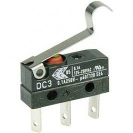 Mikrospínač - simulované koliesko Cherry Switches DC3C-L1SC, 250 V/AC, 0.1 A, IP67