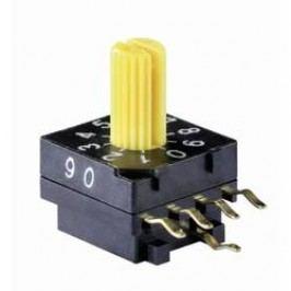 Kódovací spínač Knitter-Switch DRR 4016, hexadecimálne, 0-9 / A-F, počet pozícií prepínača 16, 1 ks