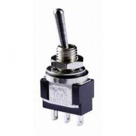 Pákový spínač Knitter-Switch MTE 106D, 250 V/AC, 3 A, IP67, 1 ks