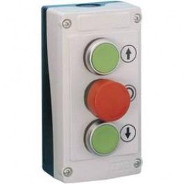 Tlačidlo BACO LBX308830, červená, zelená, 1 ks