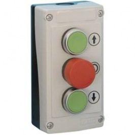 Tlačidlo BACO LBX324080, červená, zelená, 1 ks