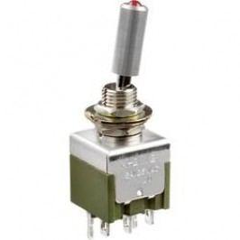 Pákový spínač NKK Switches M2112TCFW01, 250 V/AC, 3 A, 1 ks