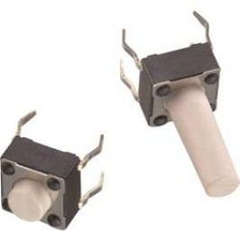 Tlačidlo Würth Elektronik WS-TSS 430156050726, 12 V/DC, 0.05 A, kov, 1 ks