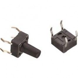 Tlačidlo Würth Elektronik WS-TSS 430186070716, 12 V/DC, 0.05 A, kov, 1 ks