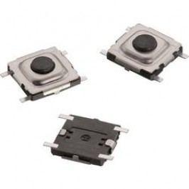 Tlačidlo Würth Elektronik WS-TSS 431181015816, 15 V/DC, 0.02 A, kov, 1 ks