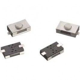Tlačidlo Würth Elektronik WS-TSW 434111025826, 12 V/DC, 0.05 A, kov, 1 ks