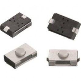 Tlačidlo Würth Elektronik WS-TSW 434113025826, 12 V/DC, 0.05 A, kov, 1 ks