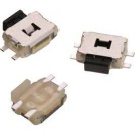 Tlačidlo Würth Elektronik WS-TUS 434331045822, 12 V/DC, 0.05 A, kov, 1 ks